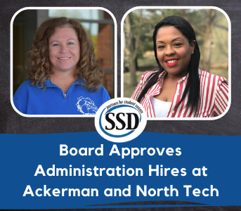 Board Approves Administration Hires at Ackerman and North Tech