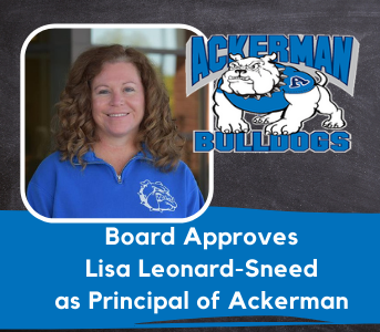 Board Approves Ms. Lisa Leonard-Sneed as Principal of Ackerman